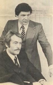 Avec Michel Duchaussoy