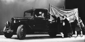 Le Citroën à gazogène
