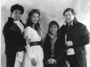 Les couples Buonarotti (Pascale Siméon et Pierre Forest) et Babeuf (Gilda Albertoni et PS)