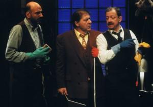 Les trois hommes de ménage : le purgatoire